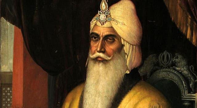 Geschichte Wissensfrage: Welches Imperium wurde von Ranjit Singh gegründet?