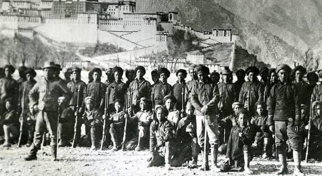 Geschichte Wissensfrage: Welches Land ist 1950 in Tibet eingedrungen?
