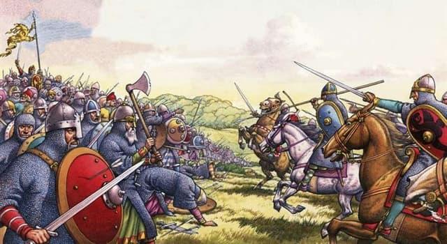 Geschichte Wissensfrage: Wer besiegte 1066 König Harold in der Schlacht bei Hastings?