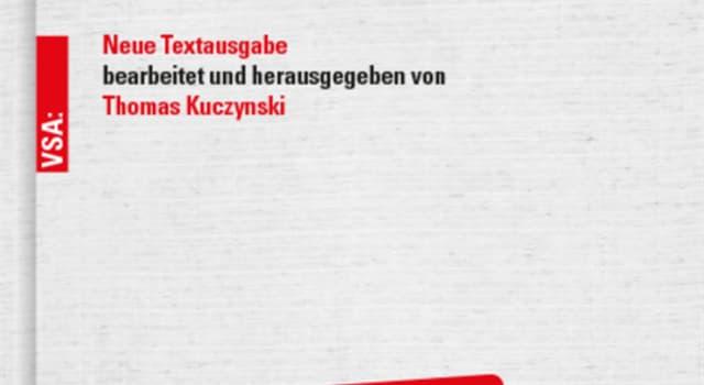 """Geschichte Wissensfrage: Wer schrieb """"Das Kapital"""" ?"""