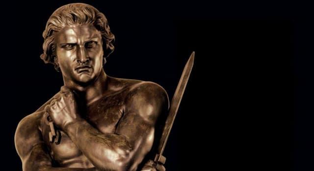 """Film & Fernsehen Wissensfrage: Wer stellte die Hauptfigur im Monumental- und Historienfilm von Stanley Kubrick """"Spartacus"""" dar?"""