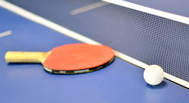 Sport Trivia Question: What do the international rules specify the weight and diameter of table tennis ball should be?