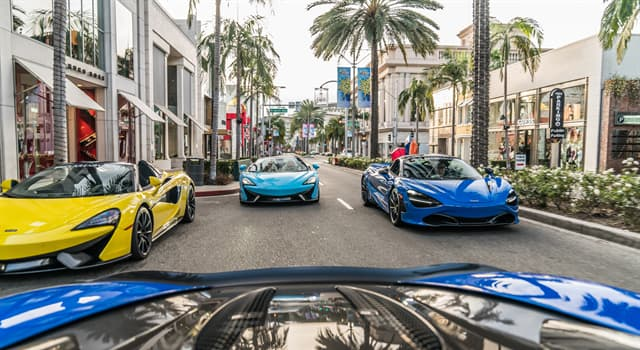 Society Trivia Question: What is Rodeo Drive in Beverly Hills famous for?