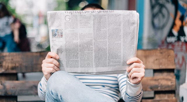Culture Trivia Question: What is the largest newspaper format called?