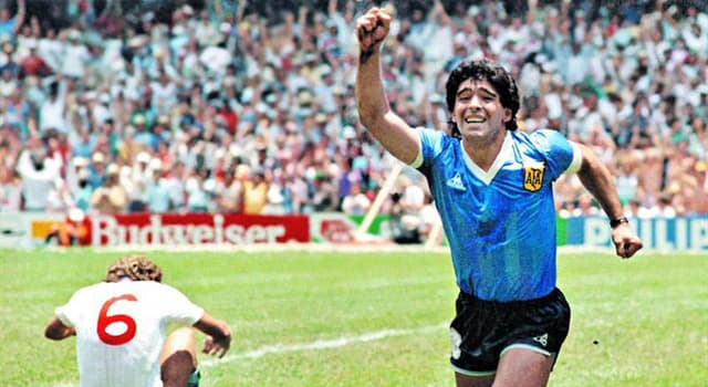 Sport Trivia Question: What is the legendary Argentinean football player Maradona's first name?