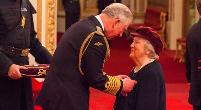 Culture Trivia Question: What is the title for a woman who has been awarded an order of 'chivalry'?