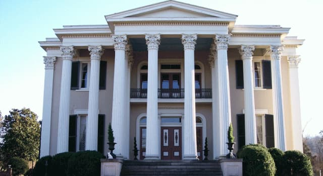 Culture Trivia Question: Which style of architecture is this estate?