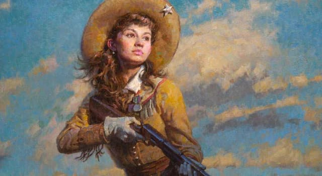 History Trivia Question: What was Annie Oakley's nickname?