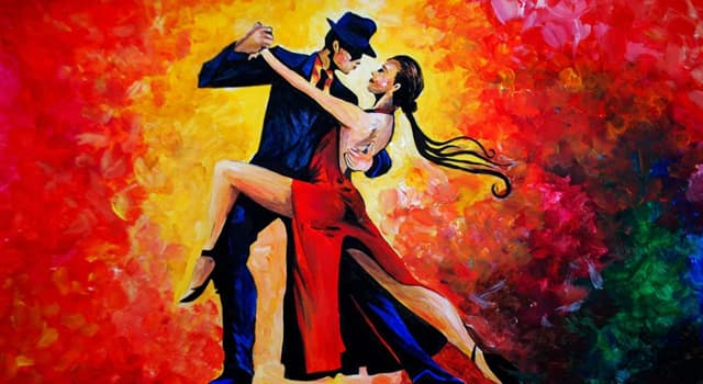Culture Trivia Question: Where did the tango dance originate?
