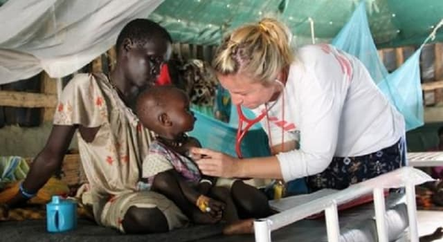 Society Trivia Question: Where did the humanitarian organization, Doctors Without Borders, originate?