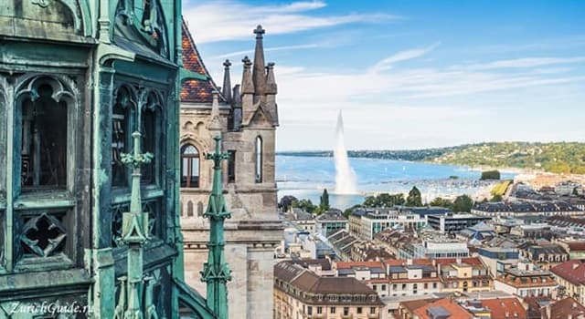 Geography Trivia Question: Where is Geneva located?