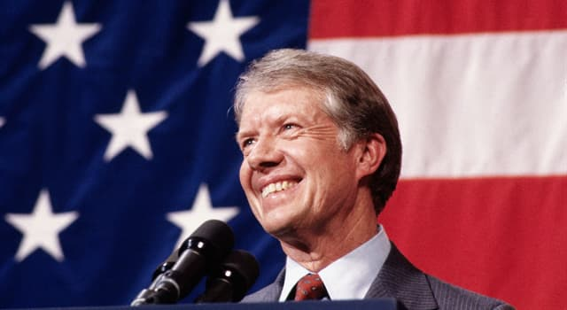 History Trivia Question: Which animal attacked U.S. President Jimmy Carter whilst fishing on a boat in 1979?