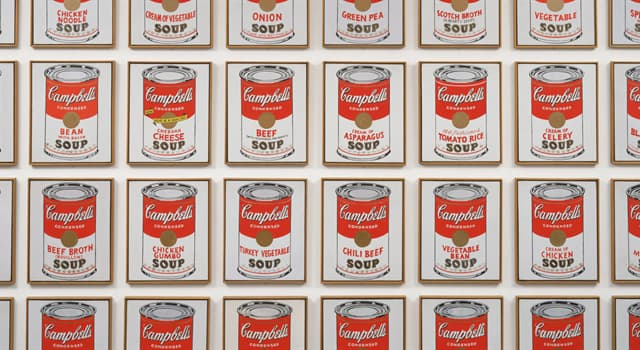 Culture Trivia Question: Which artist is famous for his work with Campbells Soup tins?