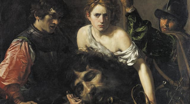 """Culture Trivia Question: Which artist painted the """"David with the Head of Goliath""""?"""
