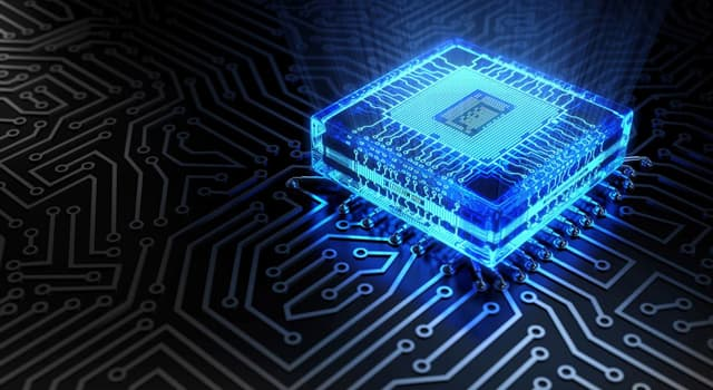Science Trivia Question: Which company released the first commercially available microprocessor?