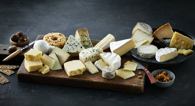 Culture Trivia Question: Which of these four types of cheese is the most expensive?