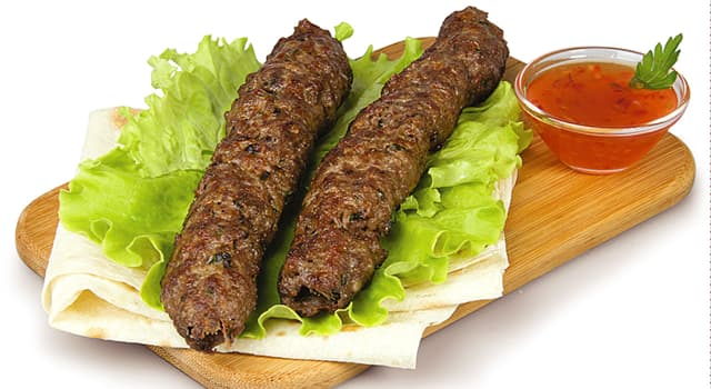 Culture Trivia Question: Which meat is lyulya kebab typically made of?