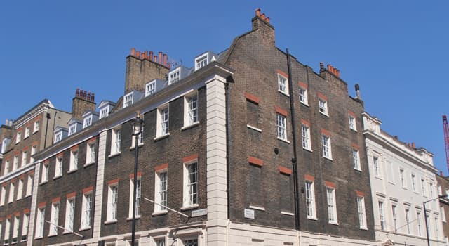Culture Trivia Question: Which musician lived at 23 Brook Street, London?