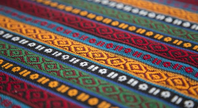 Culture Trivia Question: Which of the following is best described as an afghan?