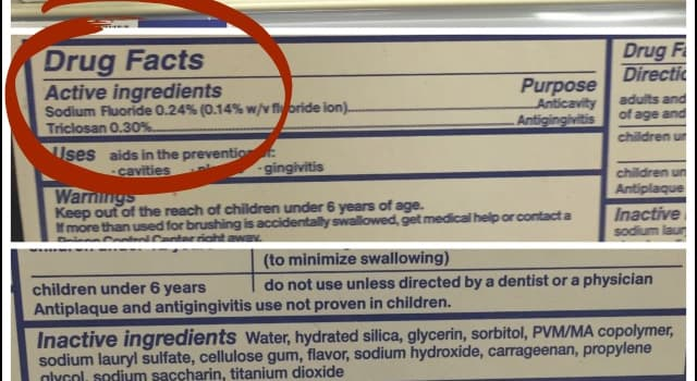 Science Trivia Question: Which of these ingredients is commonly found in toothpaste?