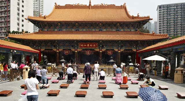 Culture Trivia Question: Which of these is a philosophical or religious tradition of Chinese origin?