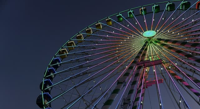 Society Trivia Question: Which of these was the first cantilevered observation wheel in London?