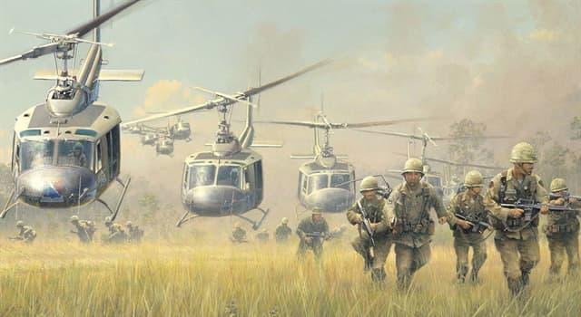History Trivia Question: Which peace treaty was signed to establish peace in Vietnam and end the Vietnam War?