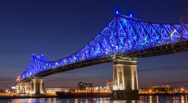 Geography Trivia Question: Which river does the Jacques Cartier Bridge cross?