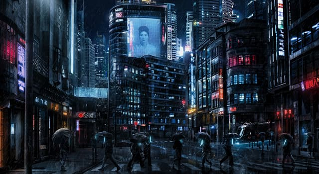 Culture Trivia Question: Which subgenre of science fiction focuses on the combination of low-life and high tech?