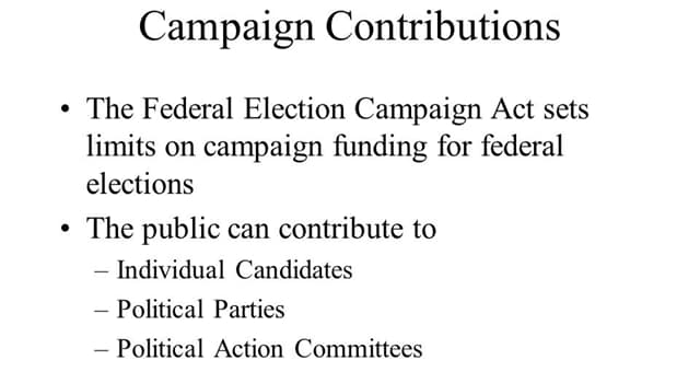 History Trivia Question: Which U.S. president signed the Federal Election Campaign Act?