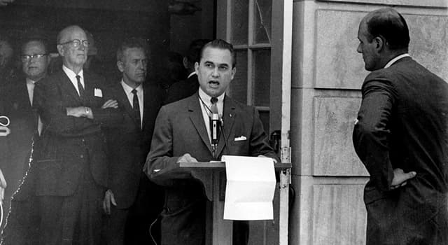 History Trivia Question: Who attempted to assassinate U.S. Democratic presidential candidate George Wallace?