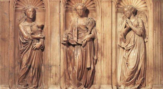 """Culture Trivia Question: Who dubbed """"Faith, Hope and Charity"""" the three theological virtues?"""