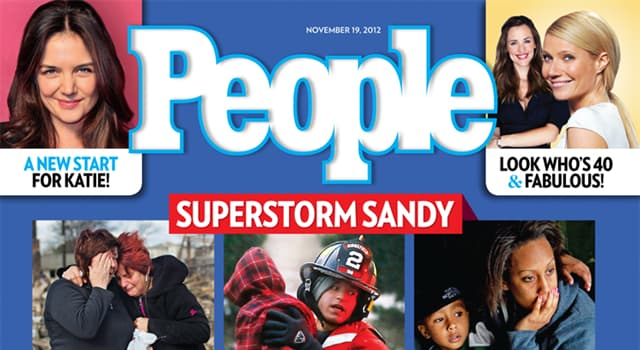 """Culture Trivia Question: Who was featured on the front cover of the first issue of the American magazine """"People""""?"""