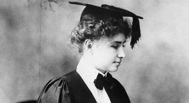 History Trivia Question: Who was Helen Keller?