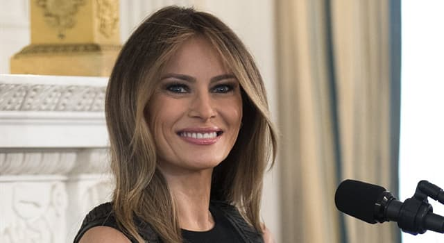 History Trivia Question: Who was the first, First Lady of the United States not to be born in the United States?