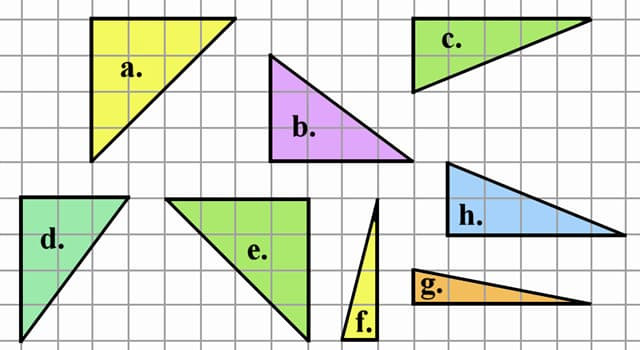 Wissenschaft Wissensfrage: Wie heißt die Seite gegenüber dem rechten Winkel in einem rechtwinkligen Dreieck?