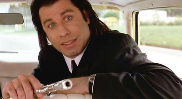 """Film & Fernsehen Wissensfrage: Wie hieß die Figur, die von John Travolta im Film """"Pulp Fiction"""" gespielt wurde?"""