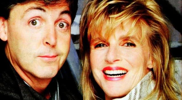 Geschichte Wissensfrage: Wie lautete der ursprüngliche Familienname von Linda McCartney?