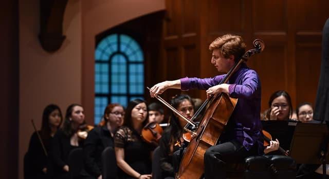 Kultur Wissensfrage: Wie viele Saiten hat ein Violoncello?