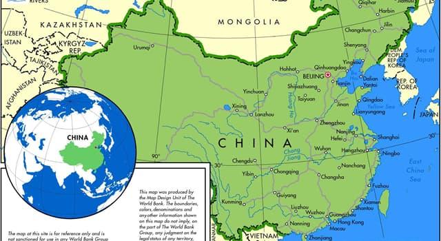 Geographie Wissensfrage: Wie viele Sterne sind auf der Nationalflagge von China abgebildet?