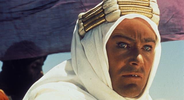 """Film & Fernsehen Wissensfrage: Wie viele weibliche Sprachrollen gibt es im epischen Film """"Lawrence von Arabien""""?"""