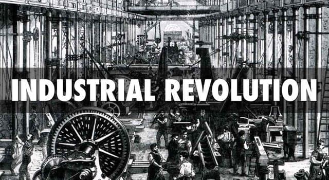 Geschichte Wissensfrage: Wo begann die industrielle Revolution?