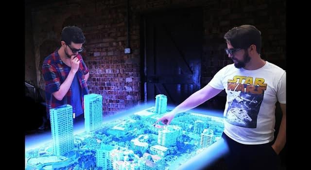 nauka Pytanie-Ciekawostka: Za pomocą czego uzyskyjemy hologram?