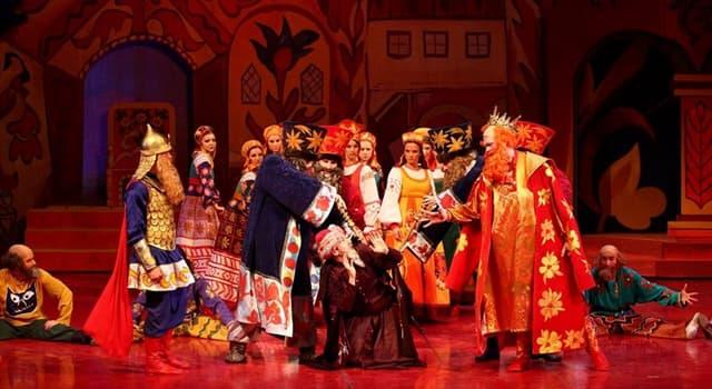 Культура Запитання-цікавинка: «Золотий півник» - це чия опера?