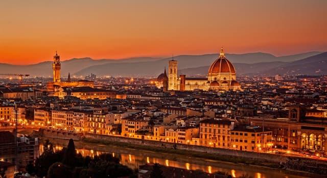 Географія Запитання-цікавинка: Адміністративним центром якої італійської області є Флоренція?