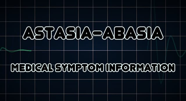 Science Trivia Question: Astasia-abasia is the inability to do what in a normal manner?