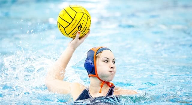 Sport Trivia Question: By what number of teams is water polo played?