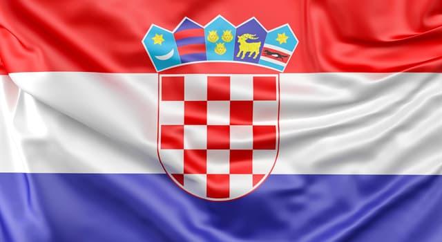 Географія Запитання-цікавинка: Прапор якої держави зображений перед вами?