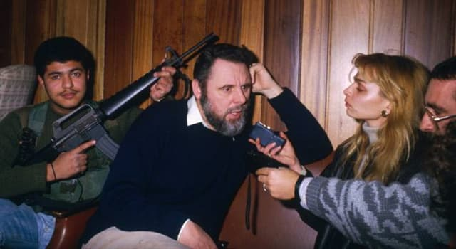 History Trivia Question: How many days was Terry Waite (envoy for the Church of England) held hostage in Lebanon ?