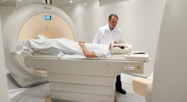 Science Trivia Question: In healthcare what does the letter 'M' stand for in MRI scan?